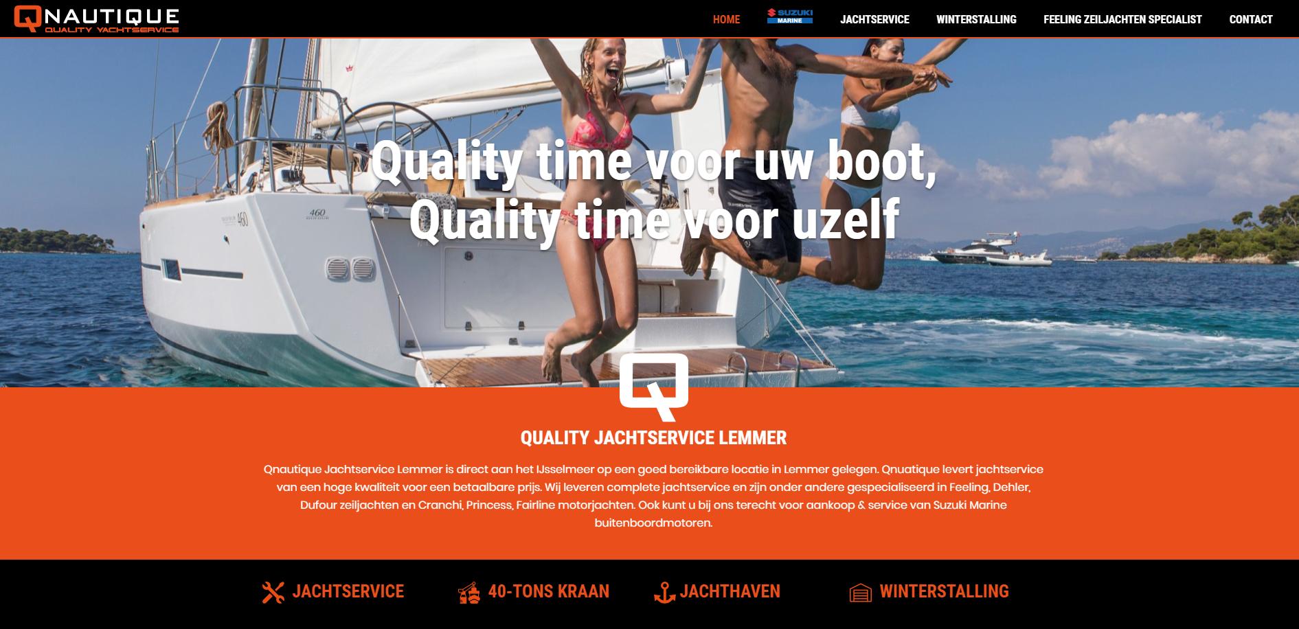 Jachtservice Lemmer / Qnautic