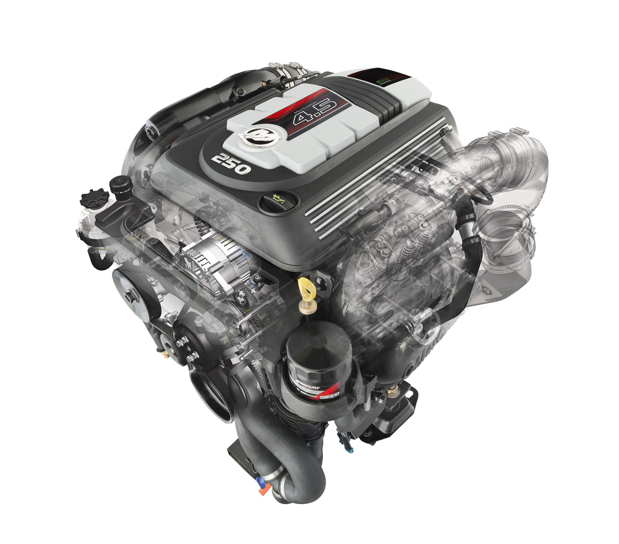 MerCruiser Small block hekaandrijving motoren