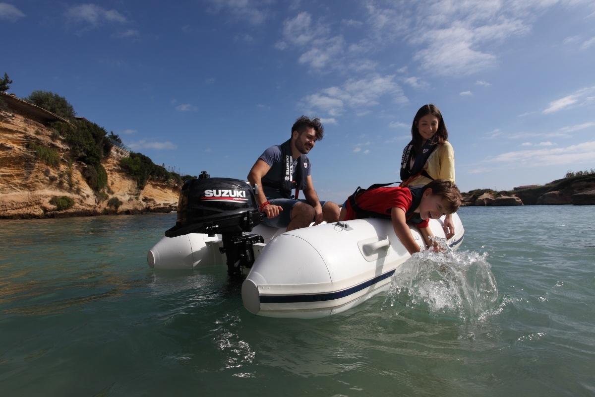 Suzuki Marine - Light & easy DF2.5, DF4A, DF5A en DF6A