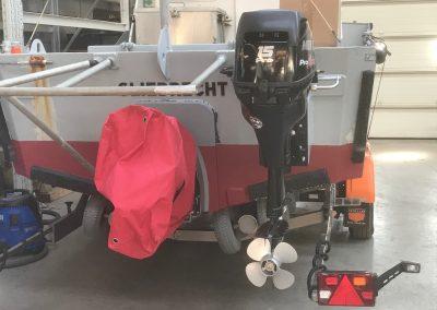 Aflevering Mercury F15 Pro Kicker