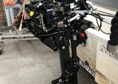Installatie Mercury F15 2