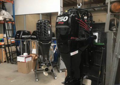 Installatie Mercury Verado 250 Pro