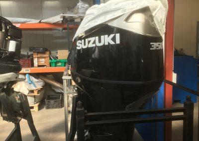 Installatie Suzuki DF350