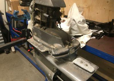 Reparatie Volvo Penta Staartstuk 2