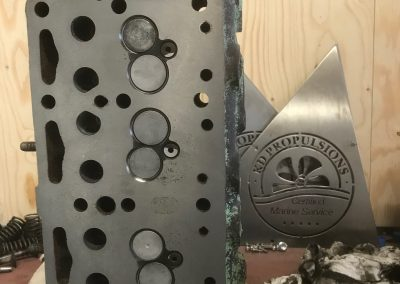 Revisie Mercedes Cilinderkop 1