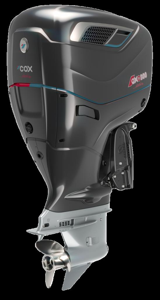 COX Diesel buitenboordmotoren bij KD propulsions