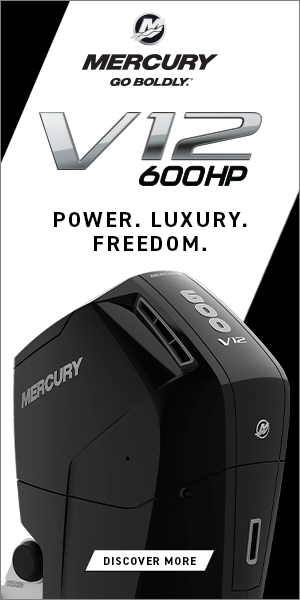 Mercury V12 Verado Power Luxury Freedom